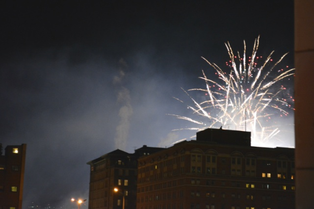 Fireworks at Light Up Night