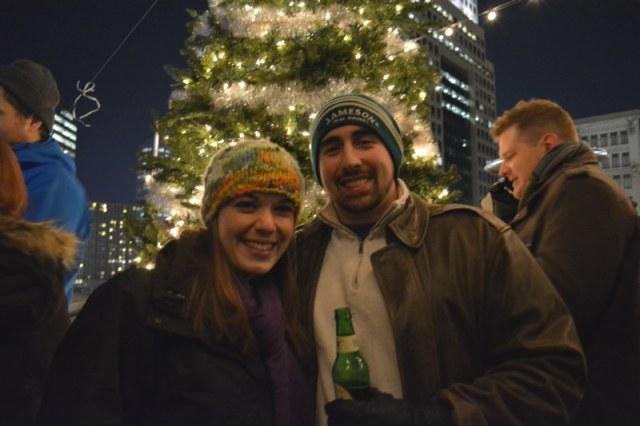 Light Up Night Christmas Tree