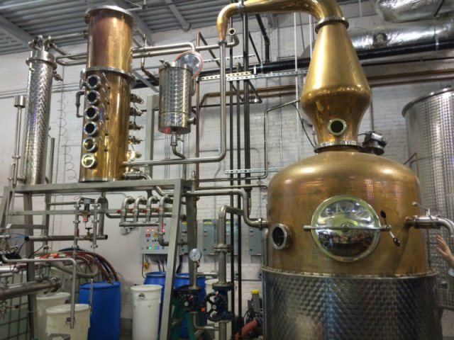 Whiskey Distillation