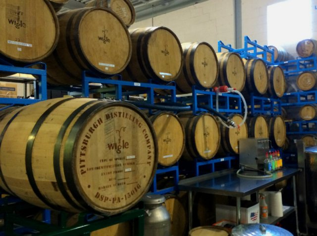 Wigle Whiskey Barrel
