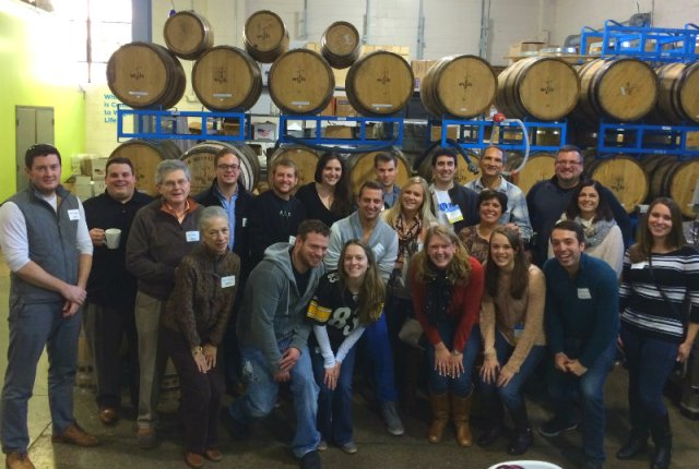 UD Group at Wigle Whiskey